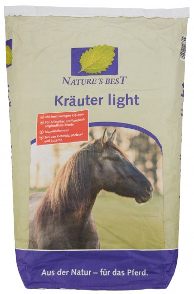 Nature´s Best Kräuter Müsli Light 20 kg