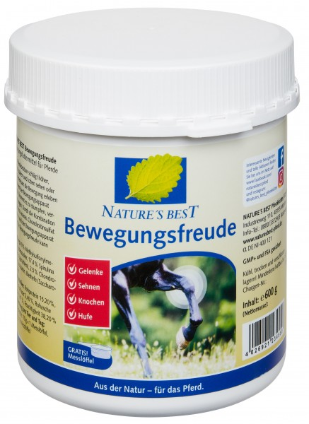 Nature´s Best Bewegungsfreude