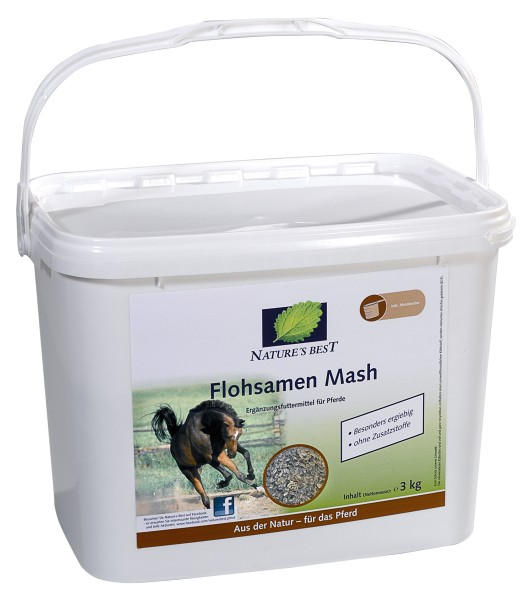 Nature´s Best Flohsamen Mash